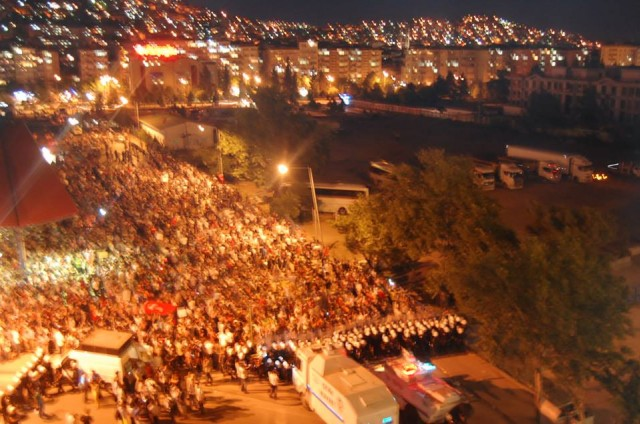 Taksim Gezi Parkına Destek Eylemi