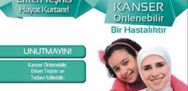 """""""1-7 NİSAN ULUSAL KANSER HAFTASI"""""""