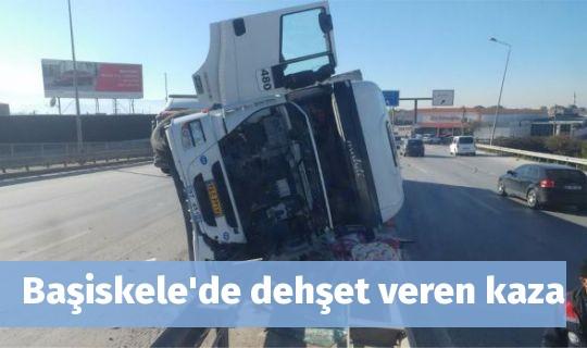 Başiskele'de dehşet veren kaza