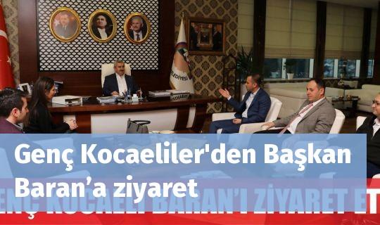 Genç Kocaeliler'den Başkan Baran'a ziyaret