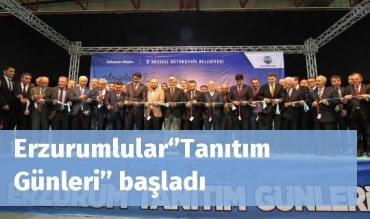 Erzurumlular''Tanıtım Günleri'' başladı