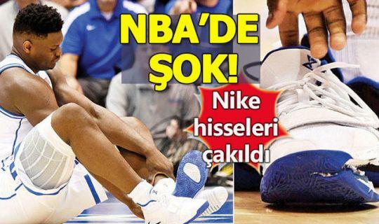NBA'de Nike'ın hisselerini eriten sakatlık