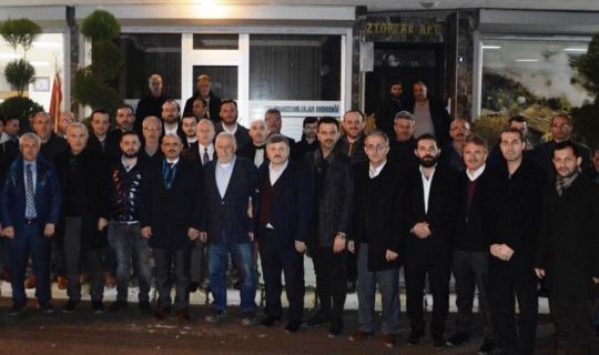 Şener Söğüt, Trabzonlulara konuk oldu