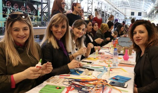Kâğıt Müzesi ve Bilim Merkezi'nden, Kadınlar Günü etkinliği
