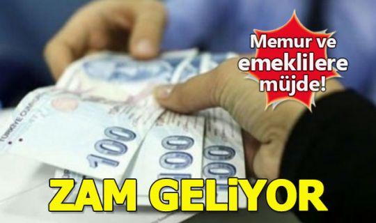 Memur ve emeklilere temmuzda en az 119 lira zam