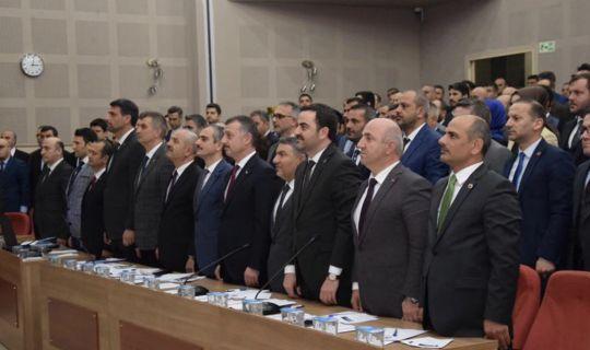 Büyükşehir meclisinde, komisyonlar belirlendi