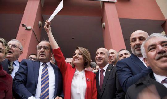 Fatma Hürriyet Kaplan, mazbatasını aldı