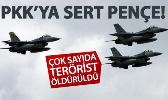 Pençe Harekatı'nda teröristlere ağır darbe!