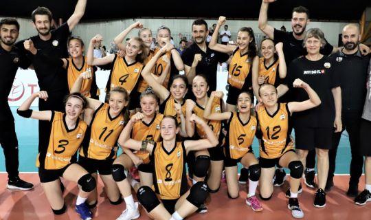 Voleybol Midiler, Türkiye Şampiyonası'nın kazananları belli oldu