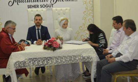 Akar'ın nikah şahitliğini başkanlar yaptı