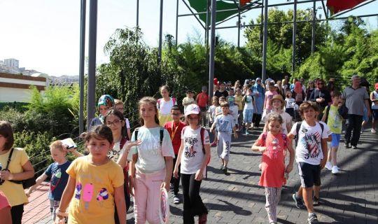 Çocuk Üniversitesi Öğrencilerinin İstanbul Gezisi