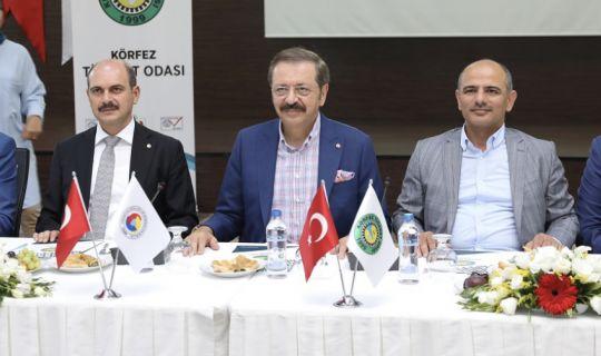 Hisarcıklıoğlu; İçimizden birinin belediye başkanı olması bizi gururlandırdı