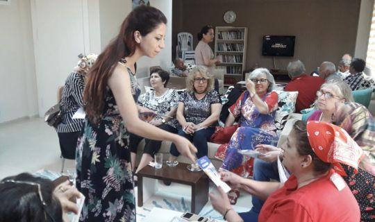 İZMİT'TİN EMEKLİLERİNE, KANSER TARAMASI