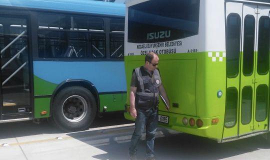 Yönetmeliğe uymayan, otobüs sürücülerine ceza yağdı