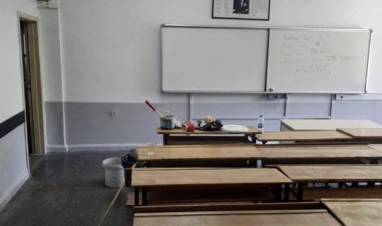 Körfez'deki, okullara boya ve tadilat desteği