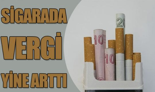 Sigaradaki, asgari maktu vergisi 7.8 TL oldu