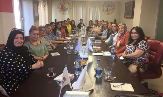 Körfez Ticaret Odası Kadın Girişimcilerinden Soma Kadın Kooperatifine Ziyaret