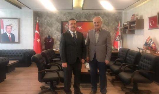Başkan Aygün, Ankara'da Temaslarda Bulundu