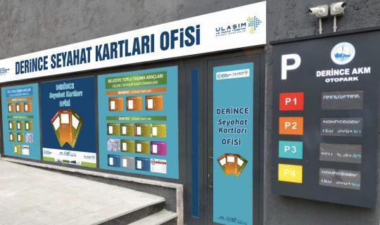 """Büyükşehir, Derince'ye """"Seyahat Kartları Ofisi"""" kuruyor"""