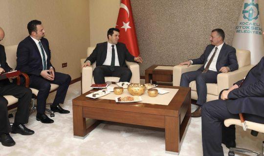 Konuk bakan, Kocaelili yatırımcıları, Makedonya'ya davet etti