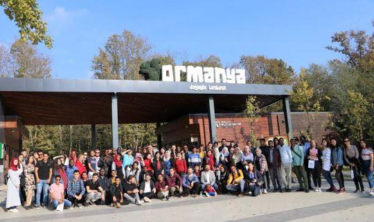 Uluslararası öğrenciler, 'Gez Gör'le İzmit'i gezdi
