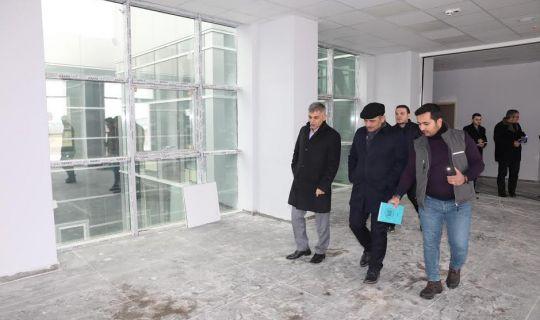 Başkan Söğüt, projeleri yerinde inceledi