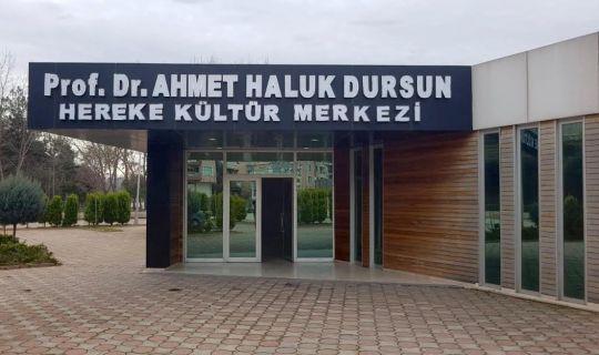 Prof. Dr. Dursun'un adı Hereke'de yaşatılıyor