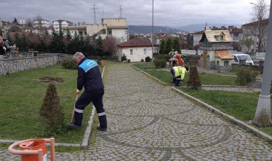 Başiskele'de Kuruyan Ağaçların Yerine Yenileri Dikiliyor