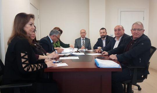 İzmit Belediyesi Encümeninde 25 madde görüşüldü