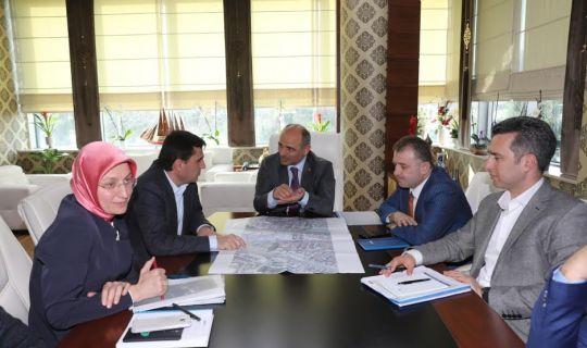 Körfez ilçesinin 2020 projeleri masaya yatırıldı