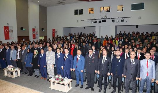 Körfez'de İstiklal Marşı'nın Kabulü'nün 99. Yılı kutlandı