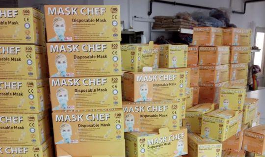 5.000 adet Cerrahi Maske ele geçirildi