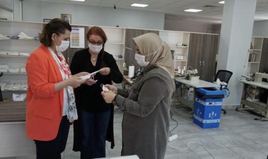 İzmit Belediyesi maske üretimini günde 30 bin adete çıkardı