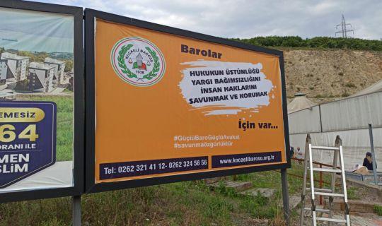 Başkan Hürriyet'ten Baro'ya destek