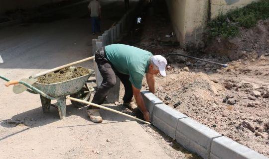 Nihal Atsız Sokak'ta çalışma