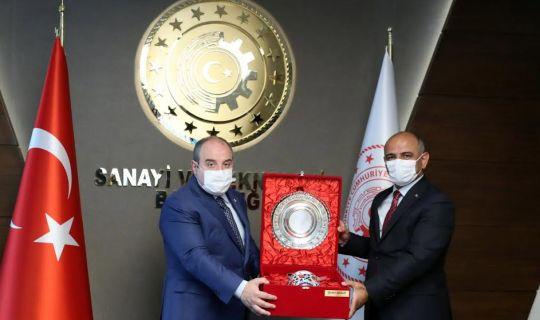 Başkan Söğüt'ten Bakan Varank'a ziyaret