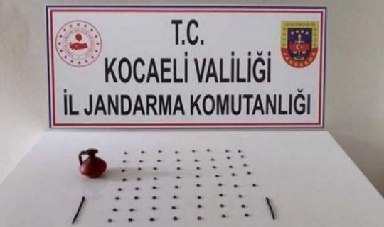 Kocaeli İl Jandarma Komutanlığı, Tarihi Eser Kaçakçılarını Yakaladı