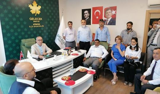 Körfez Gelecek Partisi'nde Fırat Türker Seçilmiş Başkan Oldu