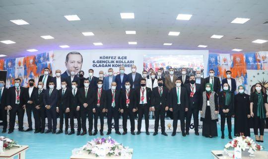 AK Parti Körfez İlçe Gençlik Kolları Başkanı, Doğan Orak Yeniden Seçildi