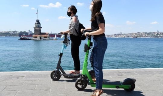 Elektrikli Scooterden 16.66 kuruş işgal harcı alınacak