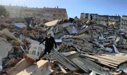 İzmir'de 6,6'lık deprem