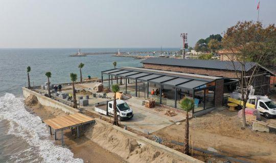 Bu restoran Darıca sahil parkının incisi olacak