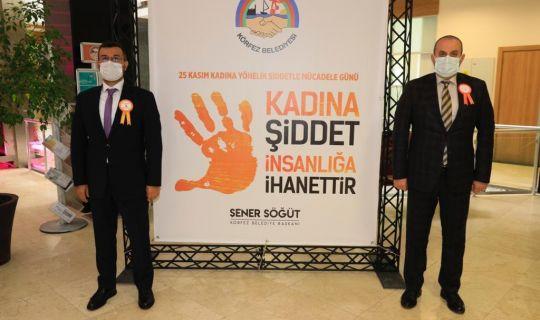 Körfez Belediyesi, 'kadına şiddete' hayır dedi