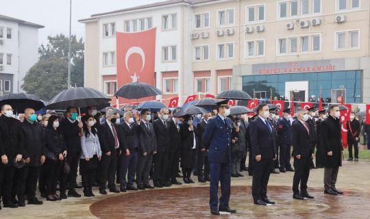 Körfez'de Atatürk saygı ve özlemle anıldı