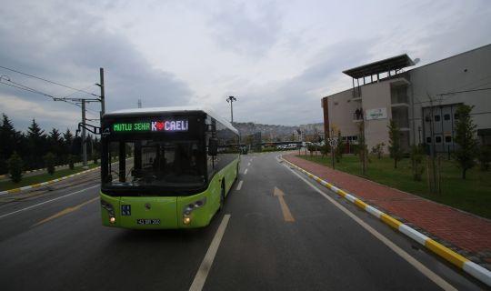 Toplu taşımada hafta sonu düzenlemesi
