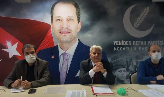 Yeniden Refah Partisi genel başkan danışmanı ve Kocaeli il başkanı Mehmet Aras, gündeme dair açıklamalarda bulundu.