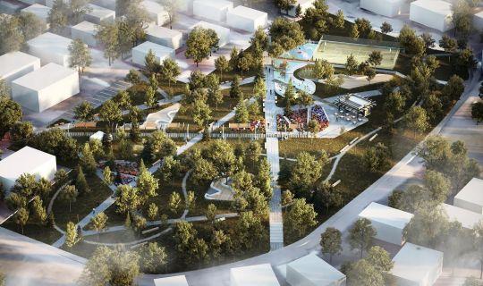 Körfez Cevher Dudayev Parkı için ihale gerçekleştirildi