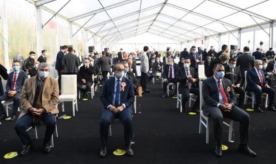 Kuzey Marmara Otoyolu'nun 6. Kesimi Cumhurbaşkanı  Erdoğan Tarafından Hizmete Açıldı