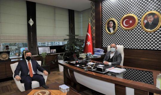 Başkan Söğüt, yeni müdürü ağırladı