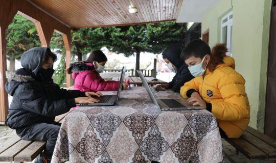 İzmit Belediyesi, ile 15 köy internete kavuştu